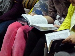 Bibles given to each girl baptized