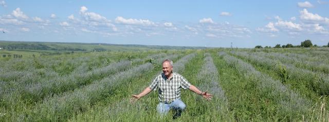 Dan in Lavender Field
