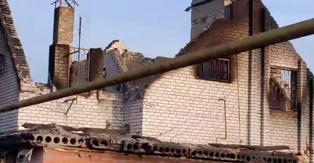 Eastern Ukraine Devastation