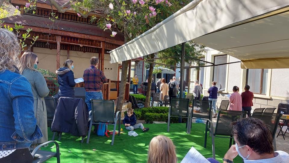 Courtyard again